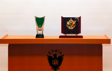 Trophy of Championship and 2nd prize